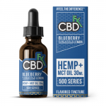 CBD fx Blueberry Pineapple Lemon CBD Tincture Oil