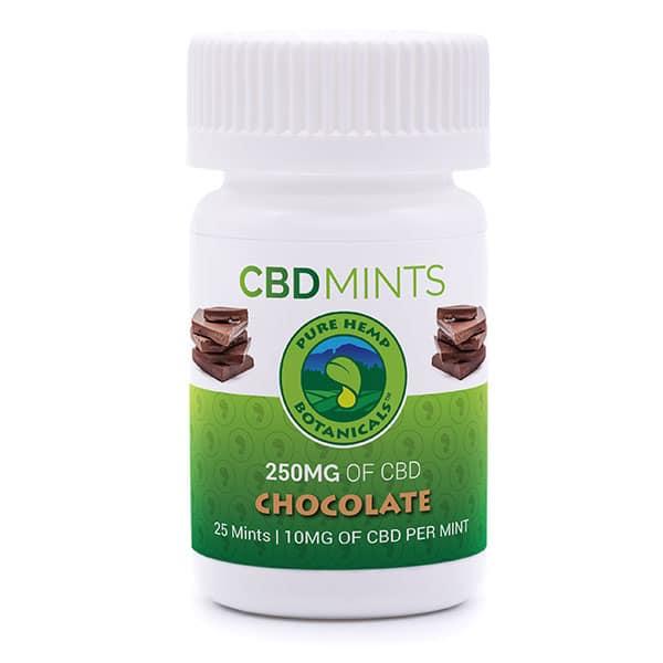 Pure Hemp CBD Mints Choco
