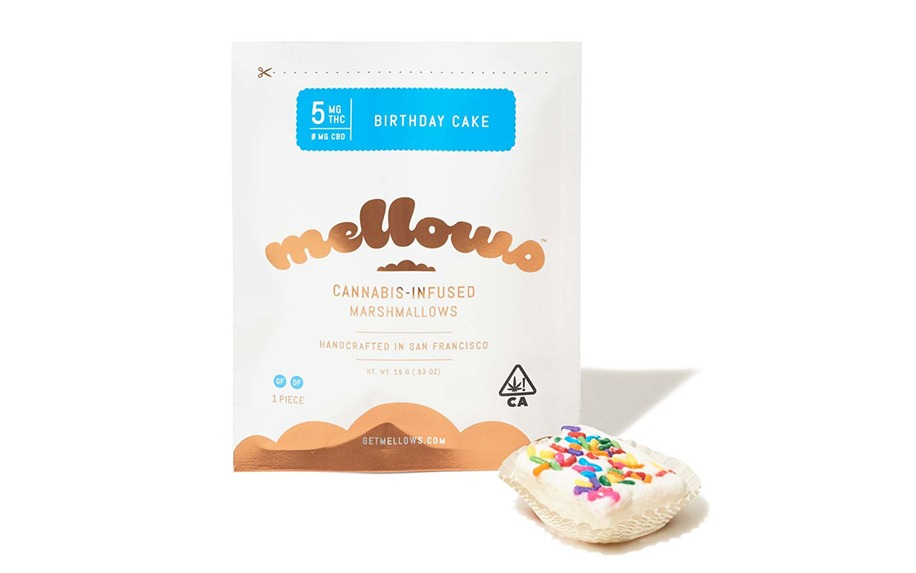 Cannabis infused marshmallows by Mellows