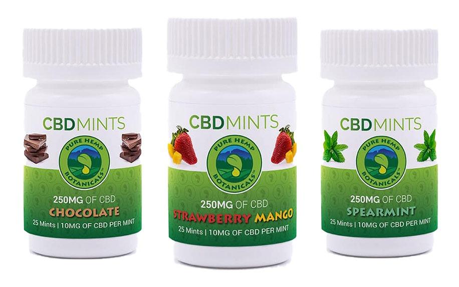 Pure hemp botanicals CBD mins
