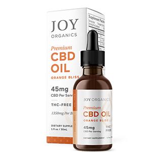 Premium CBD oil by Joy Organics
