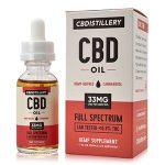hemp oil supplement by CBD distillery