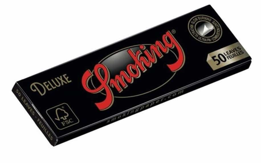Slow burn rolling papers by Deluxe Smoking
