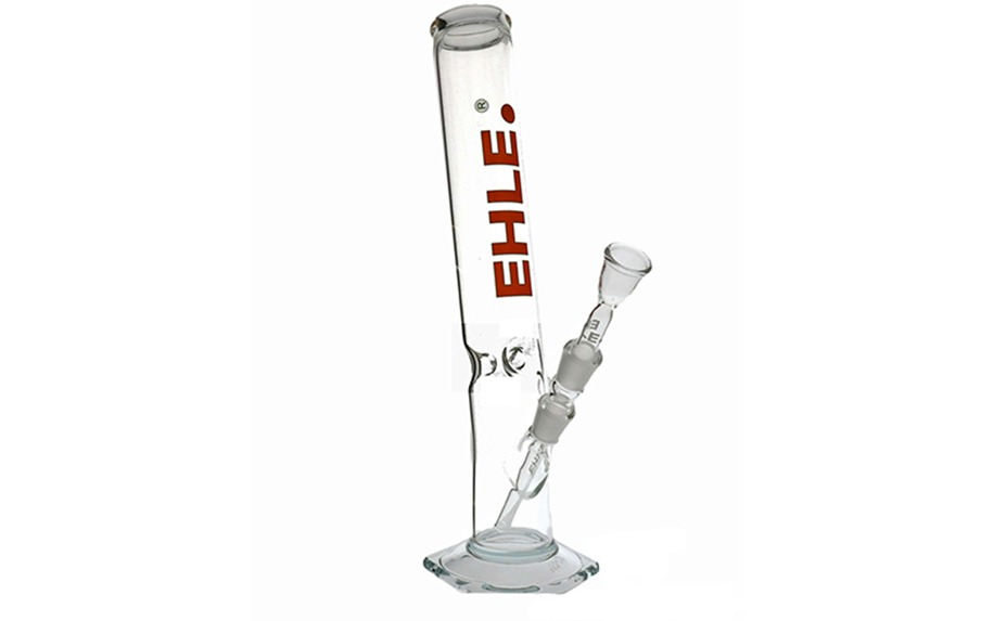 Bended glass bong by Ehle