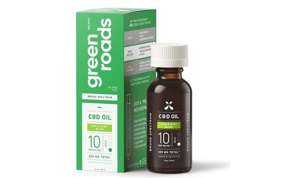 Mint Breeze CBD oil by Green Roads