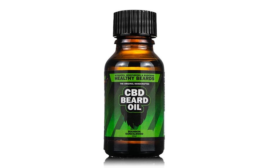 CBD oil for beards by Hemp Bombs