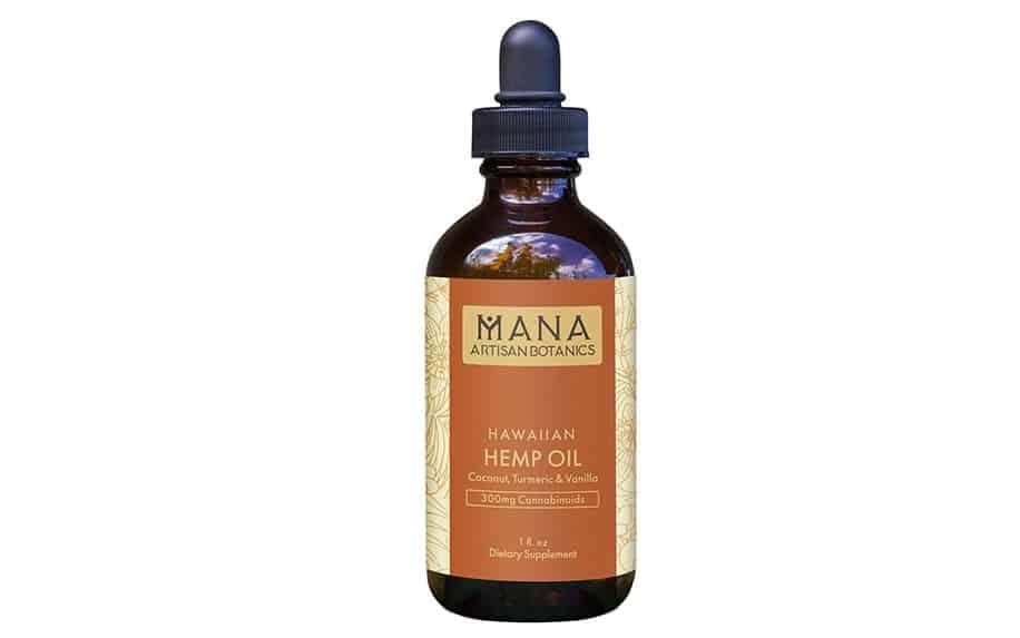 Coconut and Vanilla CBD Oil by Mana Artisan Botanics