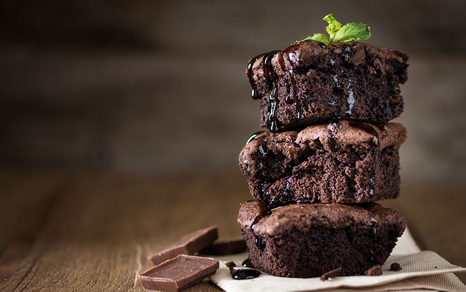 Recipe to make brownies infused with weed.