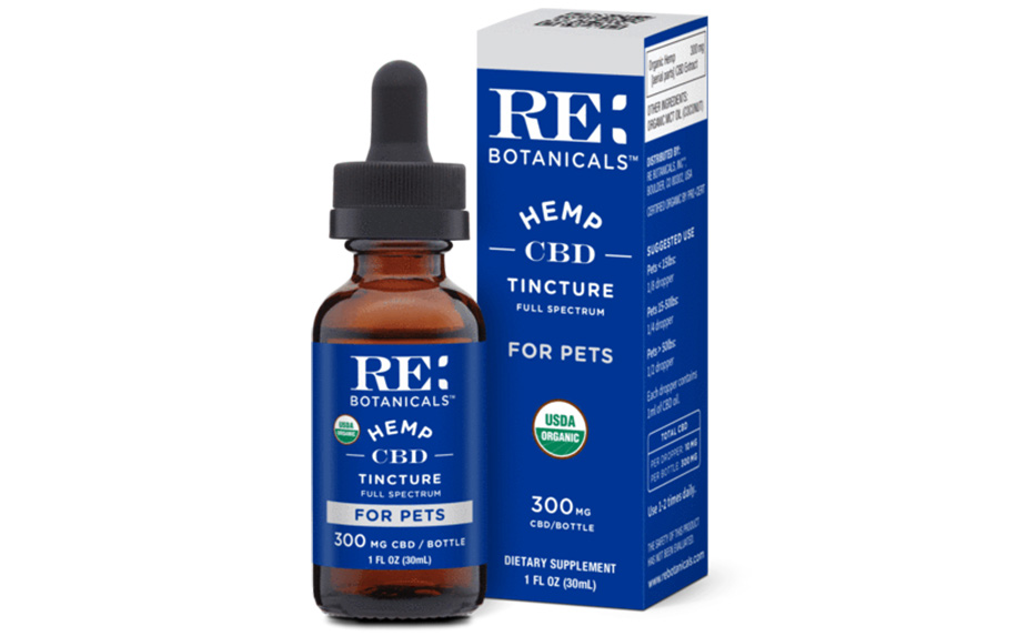 Hemp oil for pets by RE: Botanicals