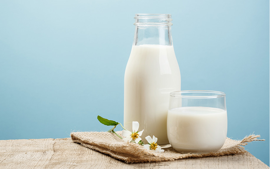 Recipe to make milk infused with weed.
