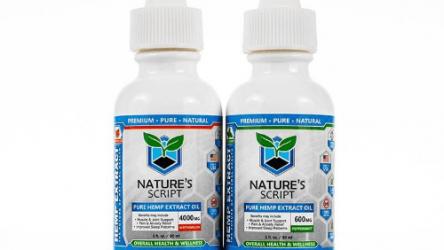 Nature's Script CBD Oil 300mg